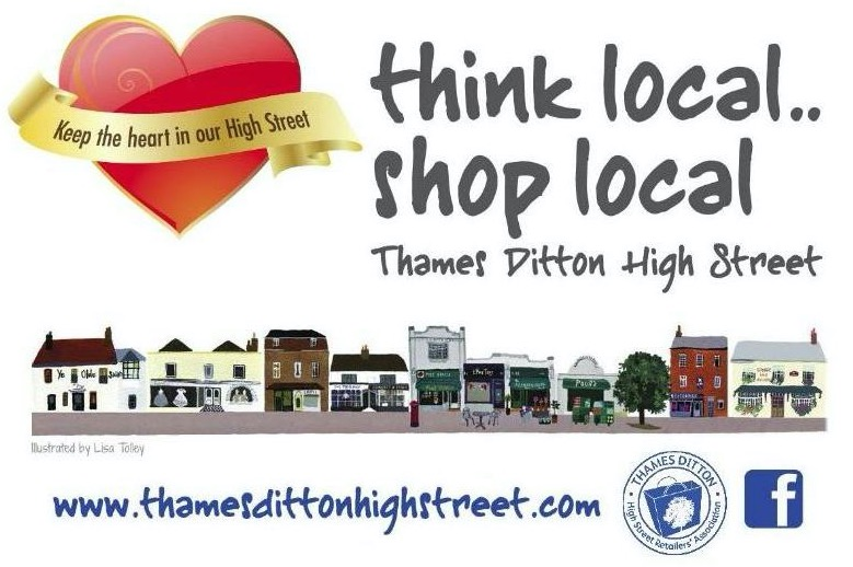 Proposed New Pedestrian Zone In Thames Ditton High Street